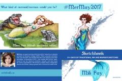 MerMay2017 Sketchbook Cover