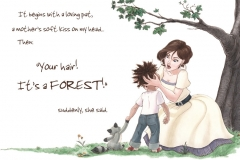 It's a FOREST!