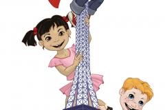 Ecole Napoleon -- Eifel Tower