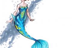MerMay 2017 Day 01 Mili Fay Mermaid