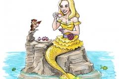 MerMay2017 Day 05 Yellow Mermaid