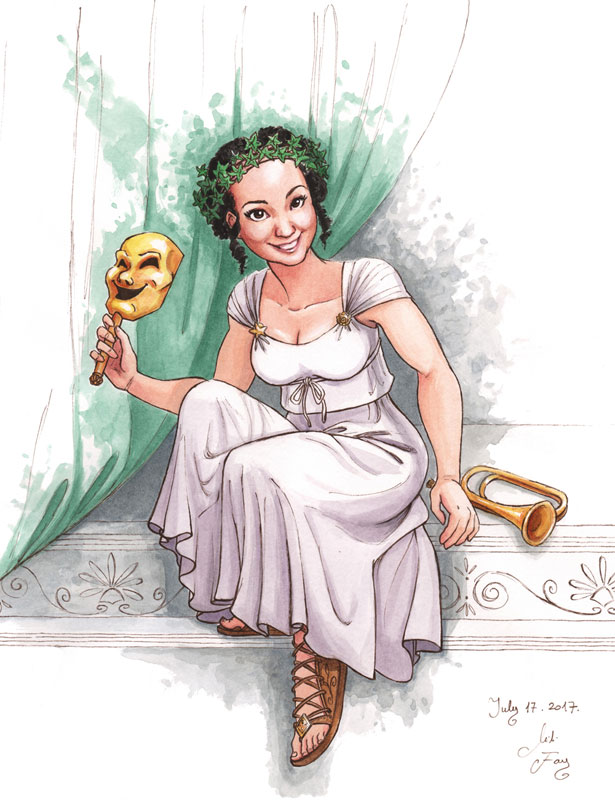 Thalia, The Muse of Comedy