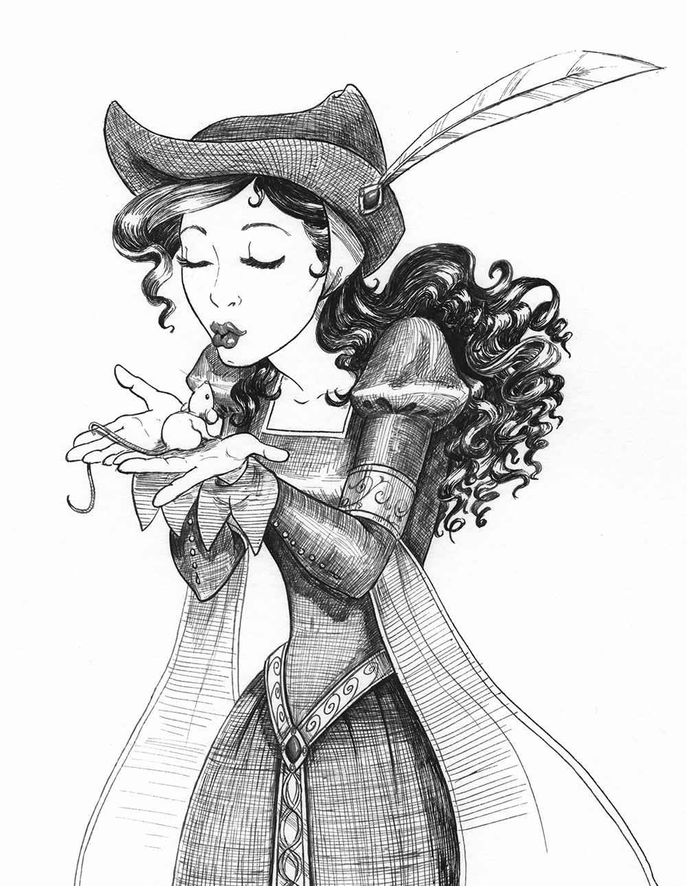 Warriors of Virtue Book 1: Nikolina Mouse
