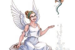Siren and Water Dragon