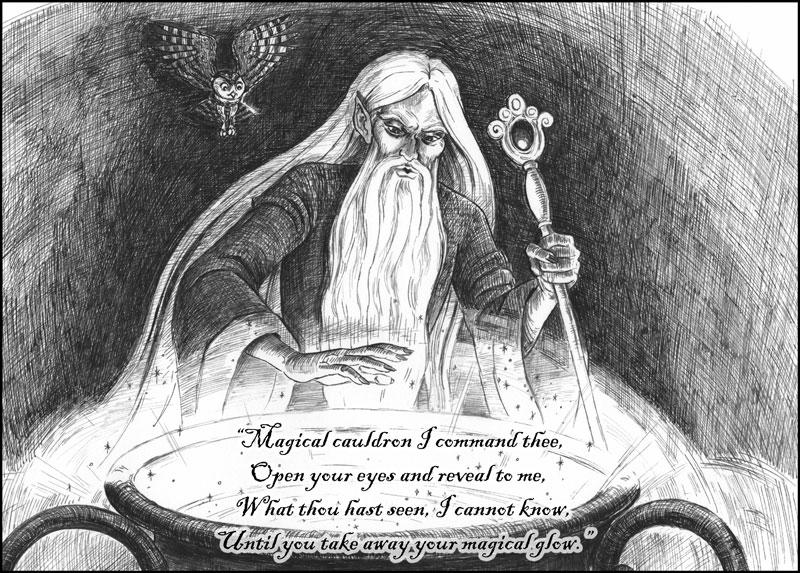 Magical Cauldron I command thee...