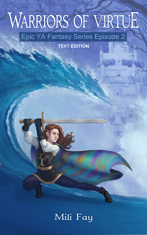 Warriors of Virtue Epic YA Fantasy Series Episode 2 Cover Art