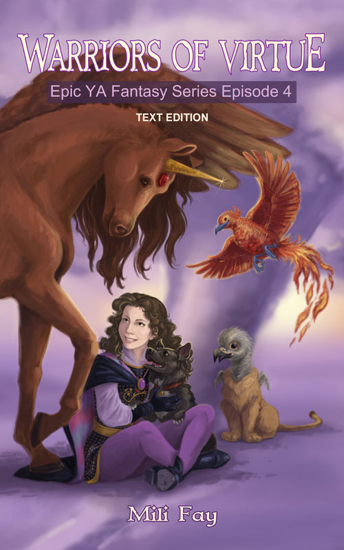Warriors of Virtue Epic YA Fantasy Series Episode 3 Cover Art