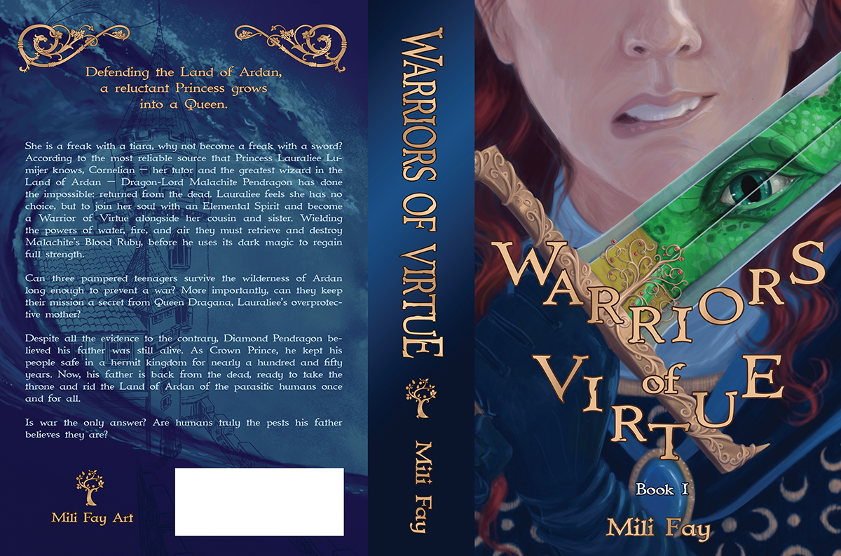 Warriors of Virtue Book 1 Cover Design