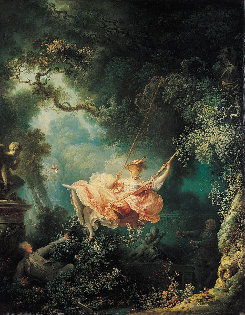 The Swing by Jean-Honoré Fragonard