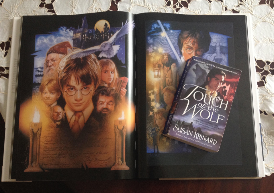 Touch of the Wolf and Harry Potter Image Sources