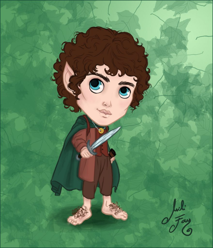 The Lord of the Rings: Frodo Baggins Mini-ME