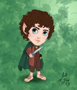 Frodo Baggins Mini-ME 250px wide.