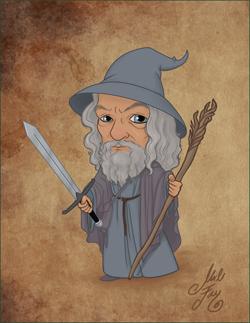 Gandalf the Grey Mini-ME 250 px width.