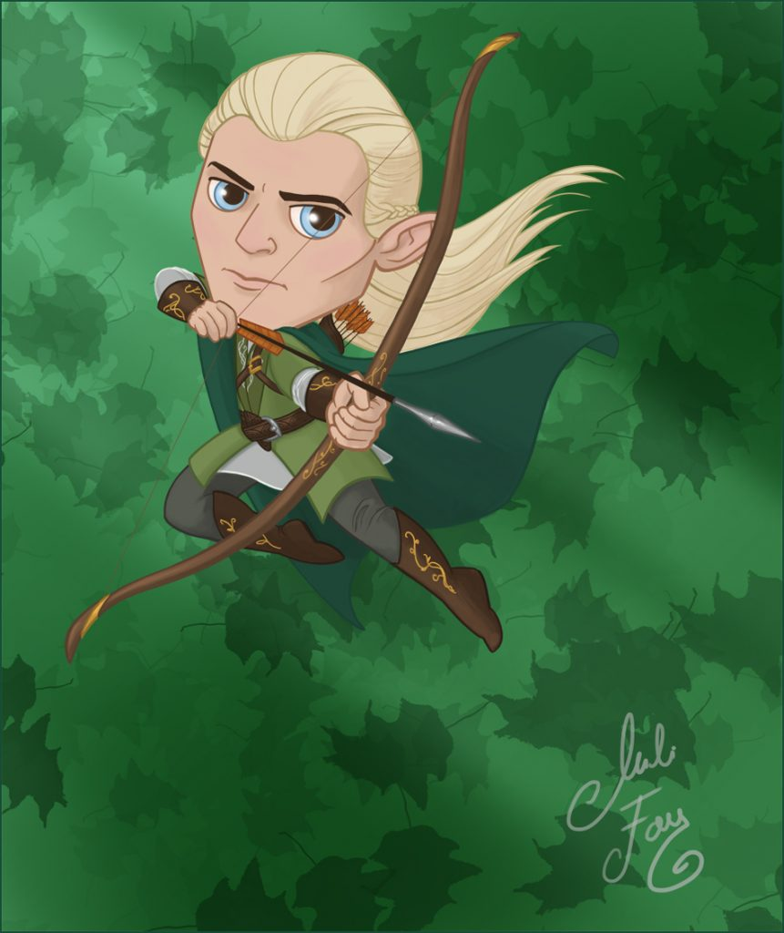 Legolas Greenleaf Mini-ME