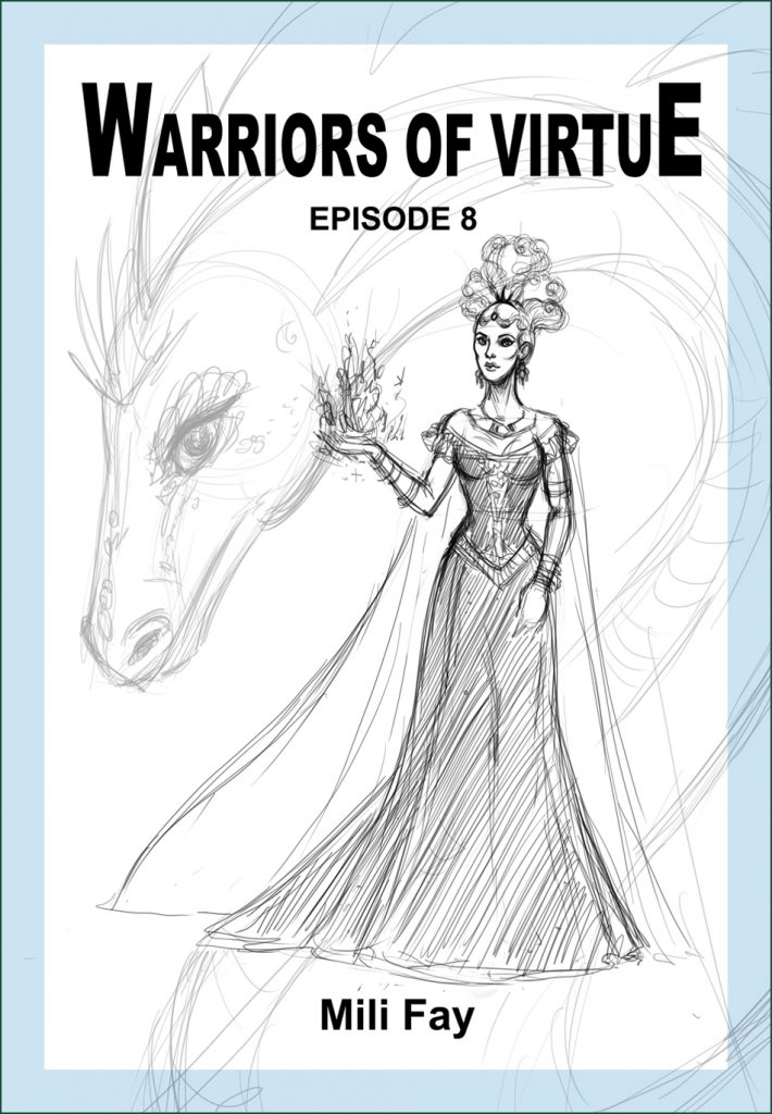 Warriors of Virtue Episode 8 cover art featuring Lady Avalon Starshine.