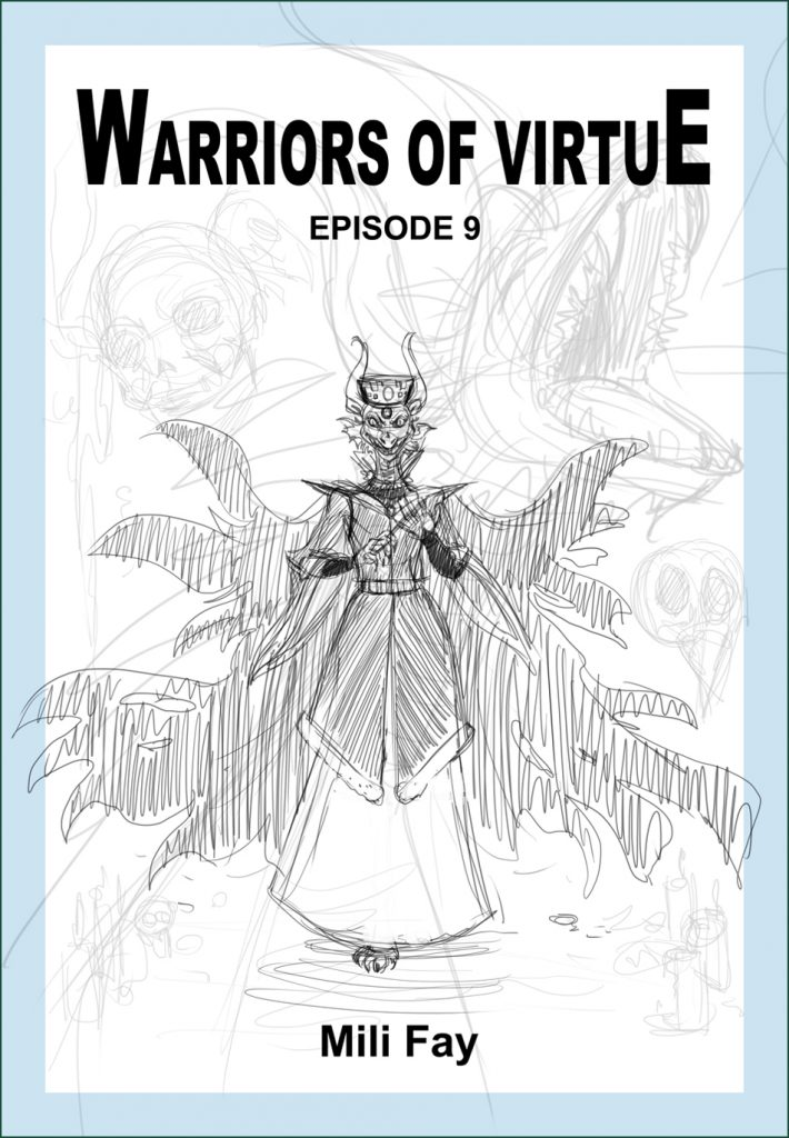 Warriors of Virtue Episode 9 cover art featuring Lord Malachite.