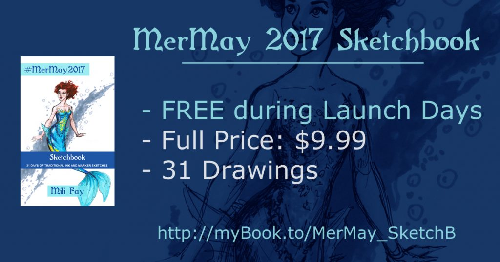 MerMay 2017 Sketchbook Features