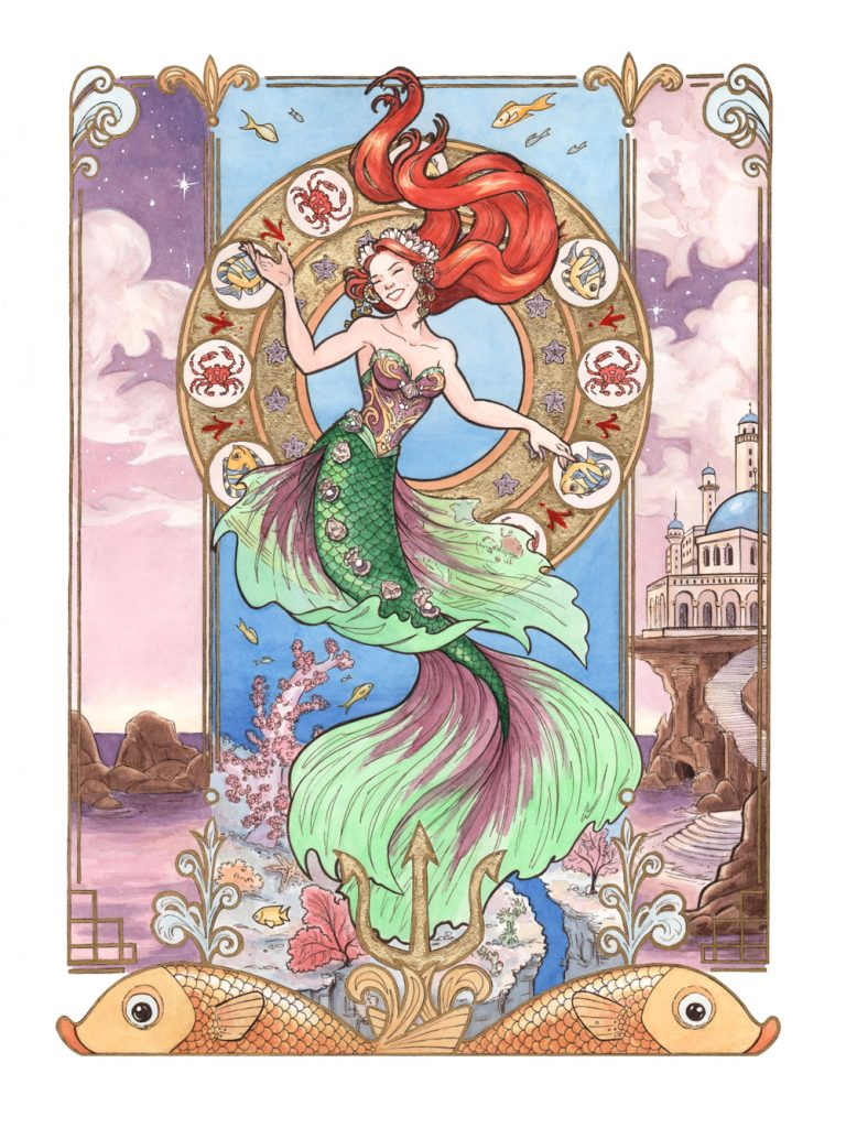 Every Girl Is A Princess series: The Little Mermaid by Mili Fay