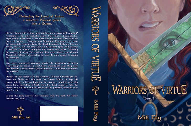 Warriors Of Virtue Book 1 Cover Art