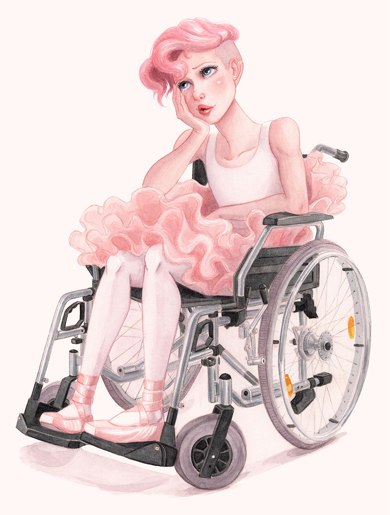 Just Dance: Ellen In A Wheelchair | Concept Art