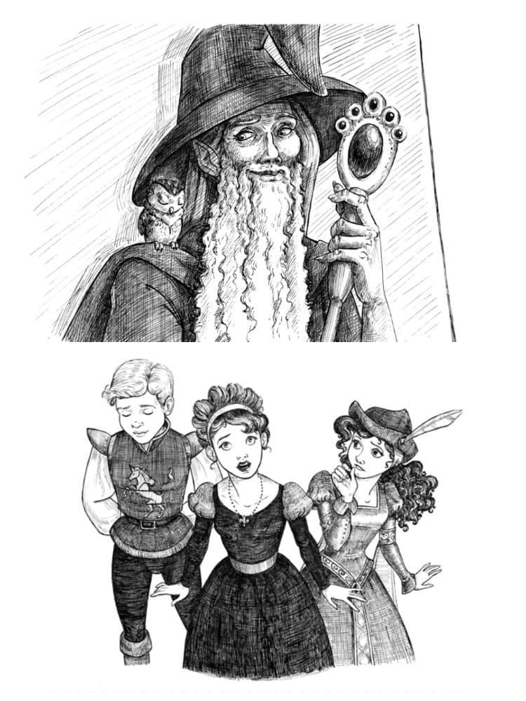 Warriors of Virtue: Artemis, Cornelian, Vladimir, Lauraliee, and Nikolina