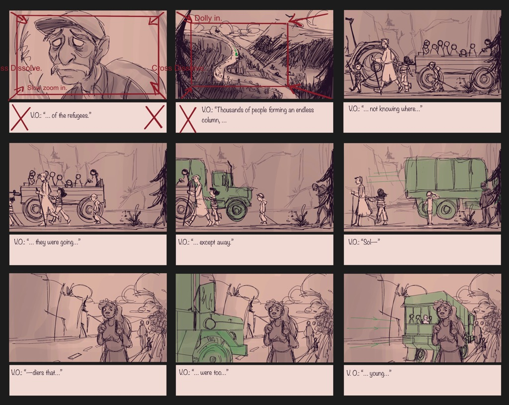 Mili Fay: An Artists Tale — Childhood Storyboard — Page 04