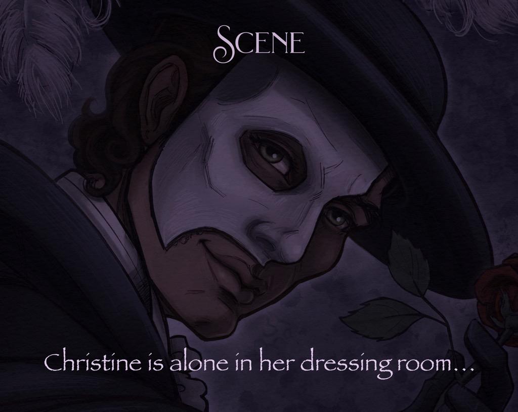 Mili Fay's The Phantom of the Opera — The Mirror — Scene Setting
