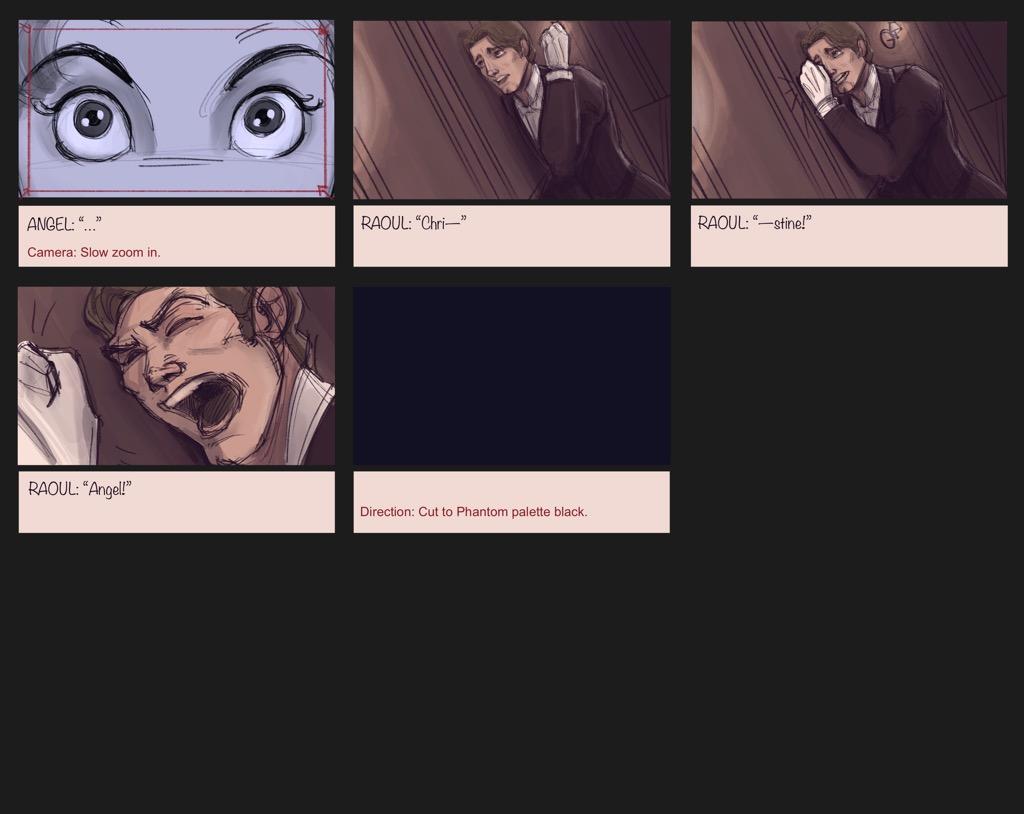 Mili Fay's The Phantom of the Opera — The Mirror — Storyboard Page 15