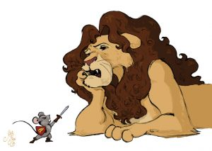 Mouse And Lion